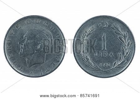 Turkey Coin Lira