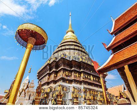 Wat Prathat Lampang Luang Temple, Lampang, Thailand