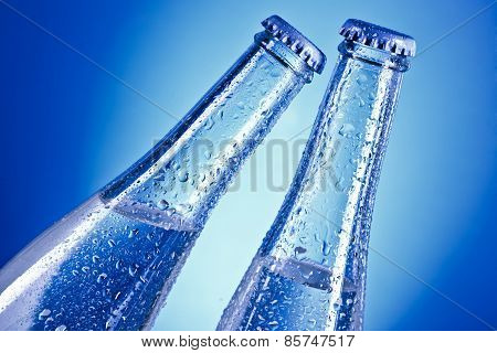 cold soda water
