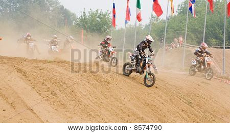 XX internationalen Motocross In Vladimir