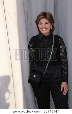 LOS ANGELES - MAR 14:  Gloria Allred at the Comedy Central Roast of Justin Bieber at the Sony Pictures Studios on March 14, 2015 in Culver City, CA