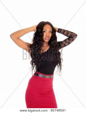 Black Woman Standing.