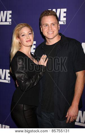 LOS ANGELES - MAR 19:  Heidi Montag, Spencer Pratt at the WE tv Presents