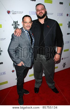 LOS ANGELES - MAR 19:  Joel Goldman, Daniel Franzese at the