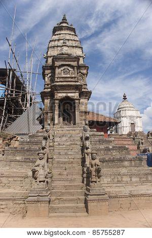 Temples In The Patan.