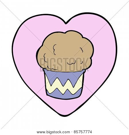 love baking cartoon