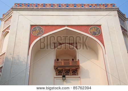 Closeup Of The Gate At Humayun's Tomb Complex, Delhi, India