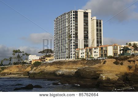 Ocean Front Condominium at La Jolla Cove, California