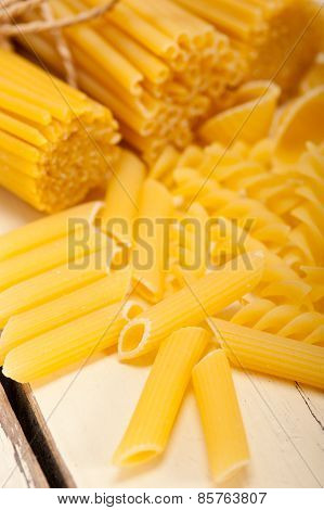 Bunch Of Italian Pasta Type