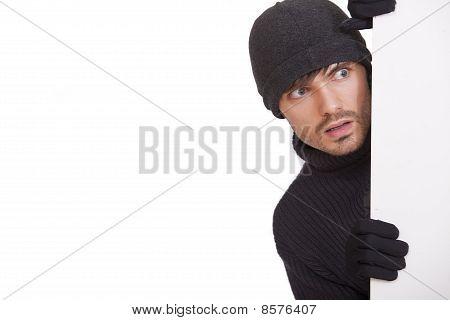 Hiding Burglar