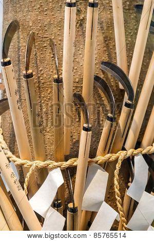 Japanese scythe