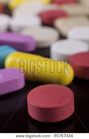 Medicine Closeup