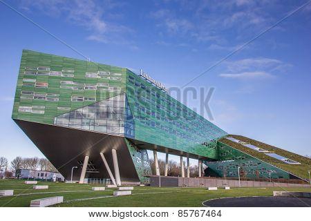Modern Building Of The Groningen University
