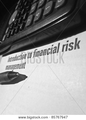 Intro To Financial Risk Management And Calculator