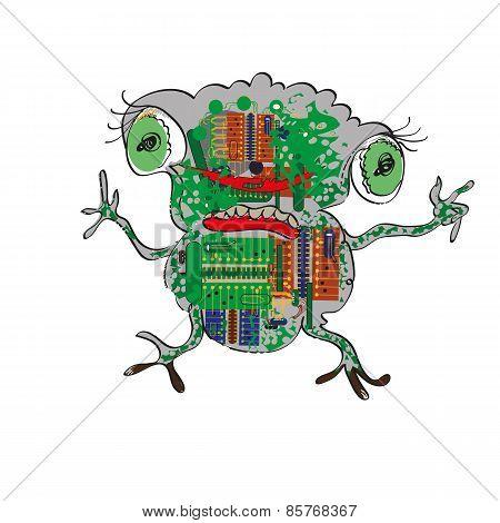 Electronic Frog
