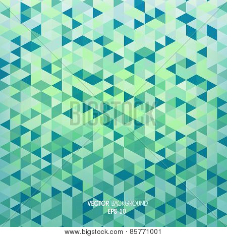 background with geometric elements of the triangle