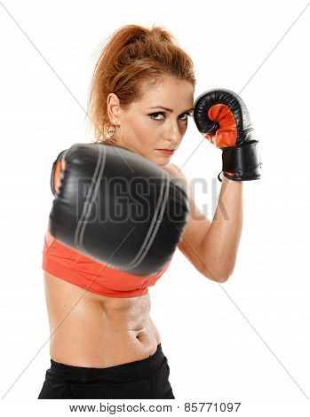 Kickbox Fighter Girl