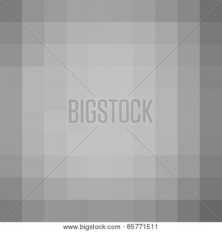 Square Pixel Gradient Vignette Effect Wall Background
