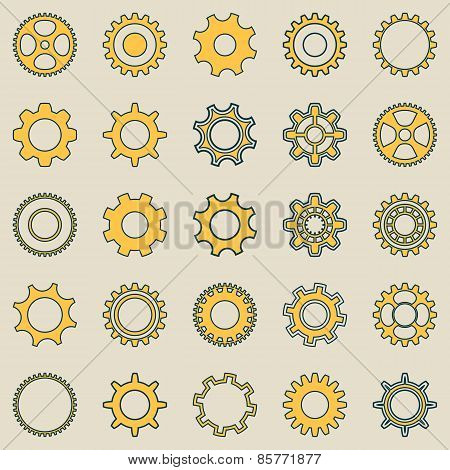 Gear Wheel Retro Collection