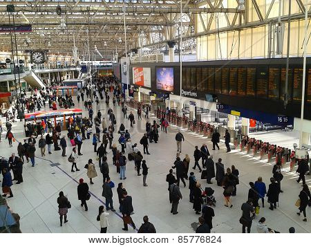 Waterloo Station London