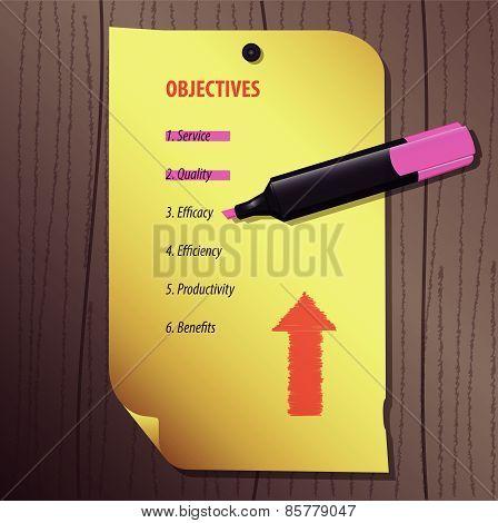 Mark Objectives