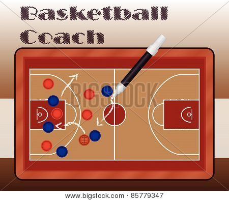 Slate Basketball Coach