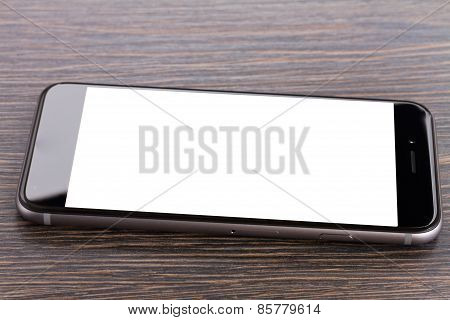 phone on table