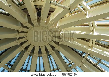 Metal Dome Roof Structure