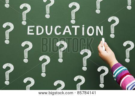 Uncertain Education