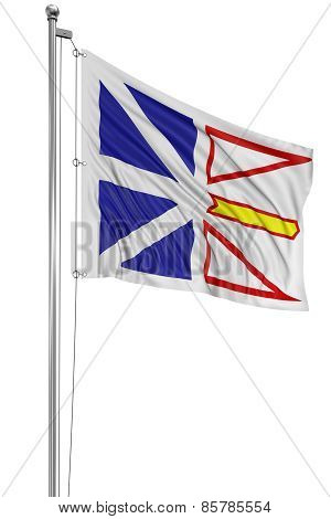 3D Newfoundland and Labrador  Flag