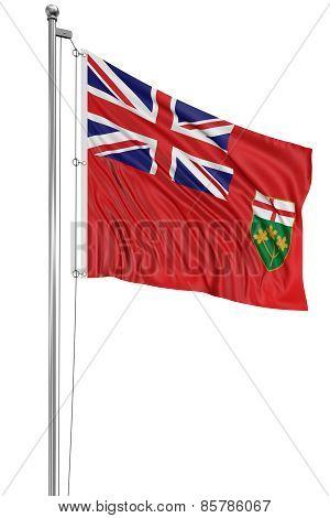 3D Ontario Flag