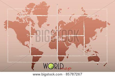 World Map Tennis