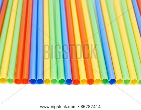 Drinking straw background