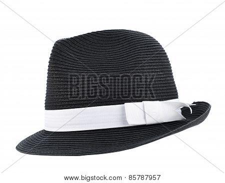 Fedora like hat isolated