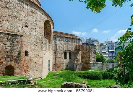 Greece, Thessaloniki, Tomb Of Roman Emperor Galerius