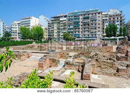 Archaeological Excavations Of Palace Of Roman Emperor Galerius