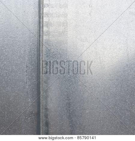 Metal zinc sheet cover