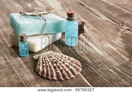 Spa Still Life With Seashells