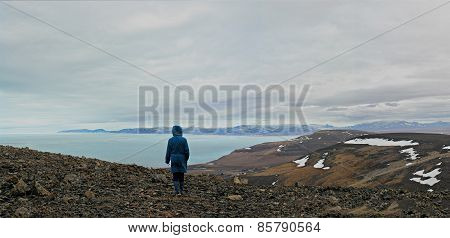 Arctic Ocean And The Coast Of Chukotka.