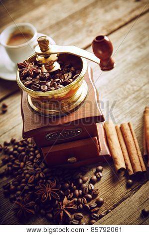 Vintage Coffee Still Life