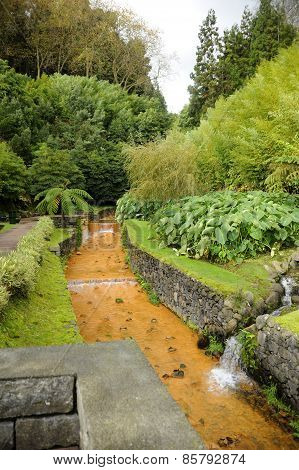 Thermal water in the Azores