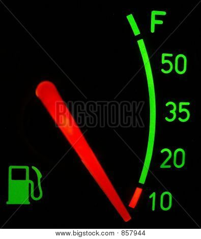 Nenhum combustível...