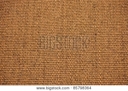 Jute Sisal Canvas Background