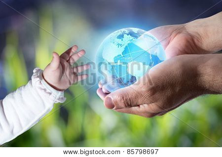 give the world to the new generation-America