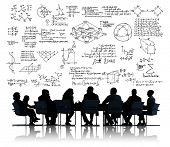 stock photo of mathematics  - Formula Mathematics Equation Mathematical Symbol Geometry Information Concept - JPG