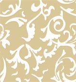 picture of damask  - damask seamless pattern background - JPG