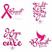 image of causes cancer  - a pink background with a white silhouette with a breast cancer symbol and text - JPG