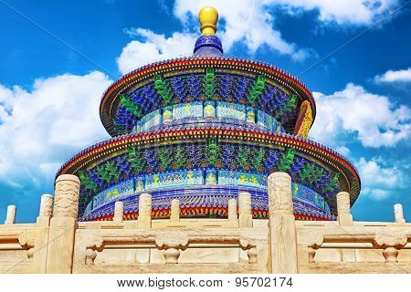 Wonderful And Amazing Temple - Temple Of Heaven In Beijing.