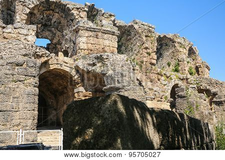 Side Ruins In Turkey