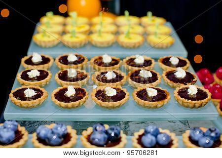 Assortment Of Fruity Tarts